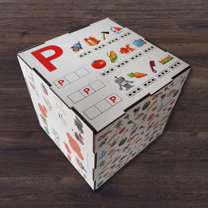 Логопедическое пособие Куб Р