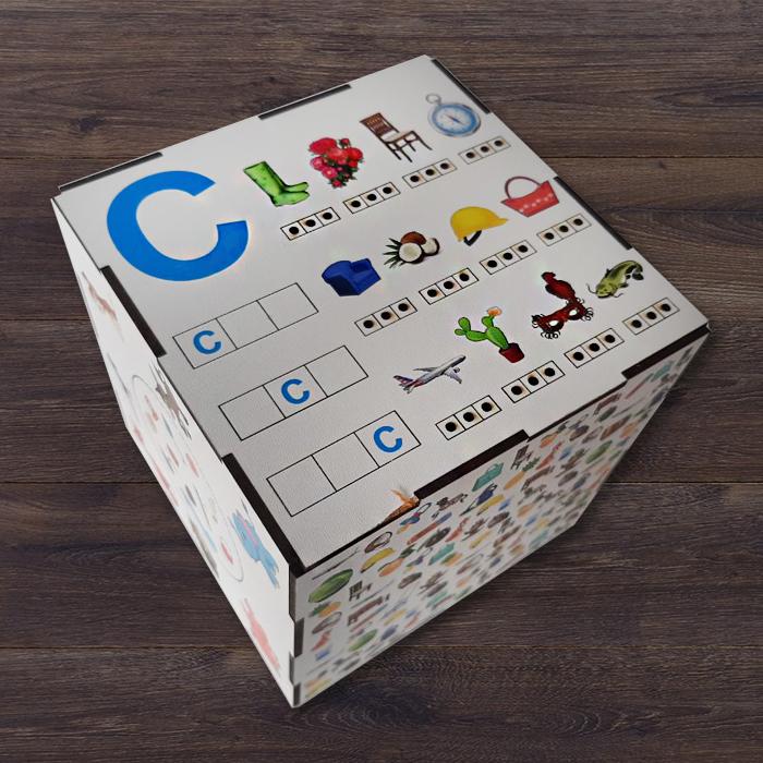 Логопедическое пособие Куб  С